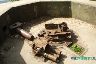 "Działo B-34U, 27. BAS w Helu. fot. Michał Szafran, <a href=""http://odwaszegofotokorespondenta.blogspot.com/"" target=""_blank"">odwaszegofotokorespondenta.blogspot.com</a>"