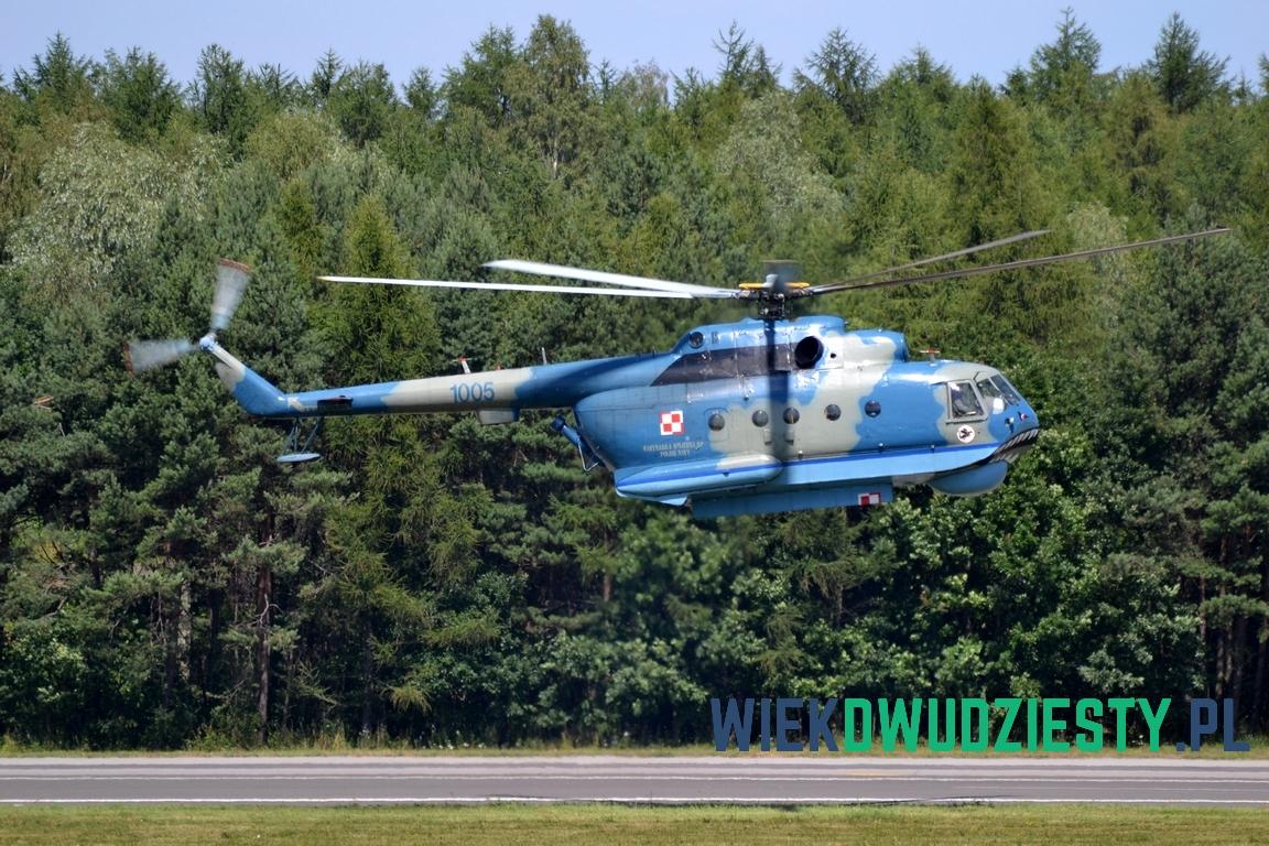 Otwarta komora bombowa w śmigłowcu Mi-14PŁ. Fot. Michał Szafran, odwaszegofotokorespondenta.blogspot.com