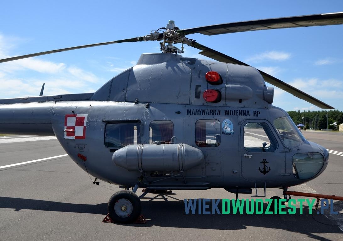 7 - Mi-2D n\b 5245 - najstarszy Mi-2 używany w BLMW. Fot. Michał Szafran, odwaszegofotokorespondenta.blogspot.com