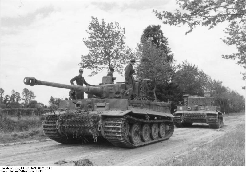 Bei Villers-Bocage, Panzer VI (Tiger I)