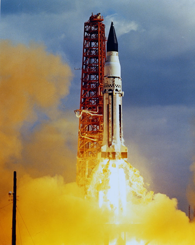Saturn_SA5_launch