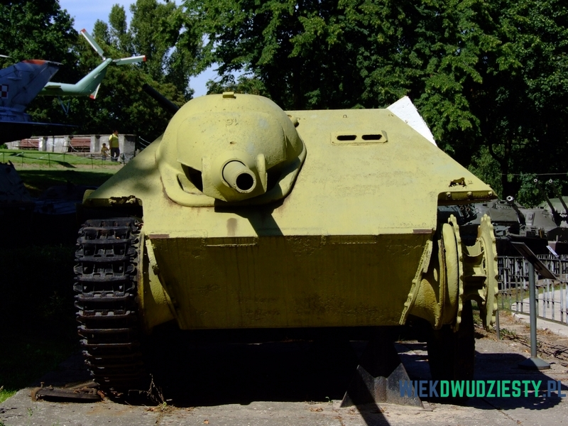 Jagdpanzer 38(t) Hetzer z Muzeum Wojska Polskiego w Warszawie. fot. Michał Szafran, odwaszegofotokorespondenta.blogspot.com
