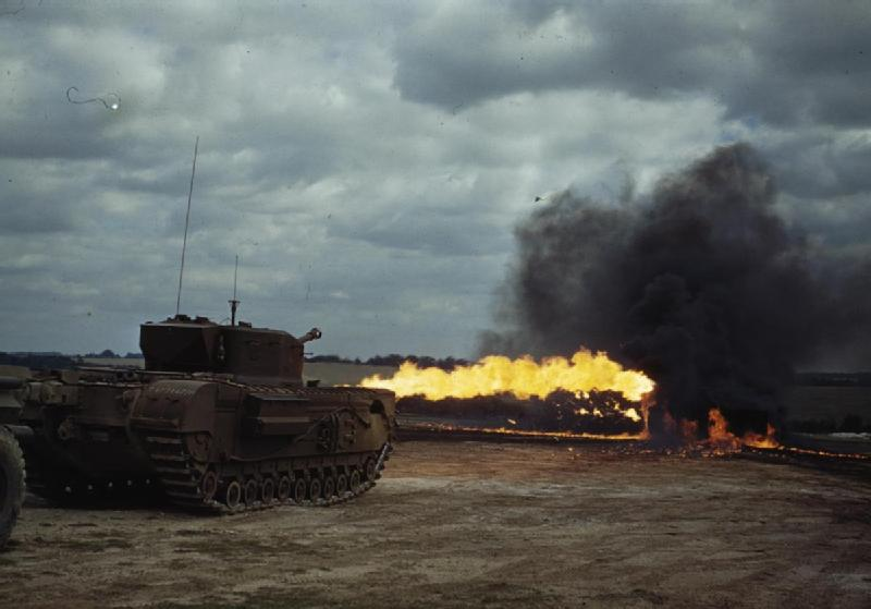 Flamethrowers_in_Action,_August_1944_TR2313