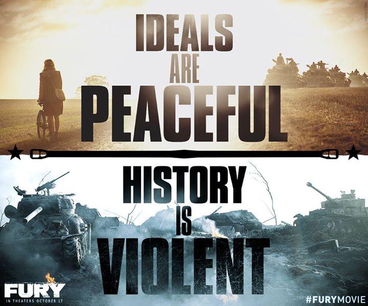 Źródło grafiki: oficjalny fanpage filmu: www.facebook.com/Fury