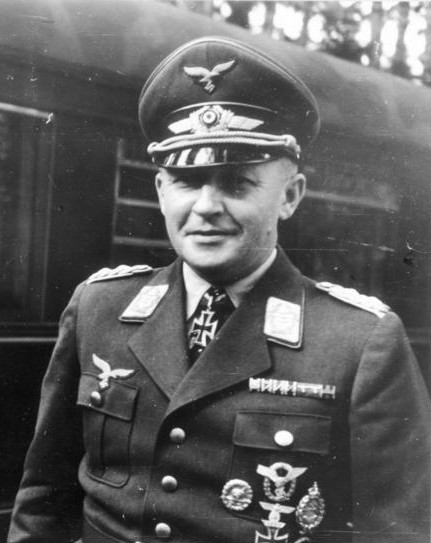 Generał Kurt Student, źródło: Bundesarchiv, licencja: CC BY-SA 3.0 DE