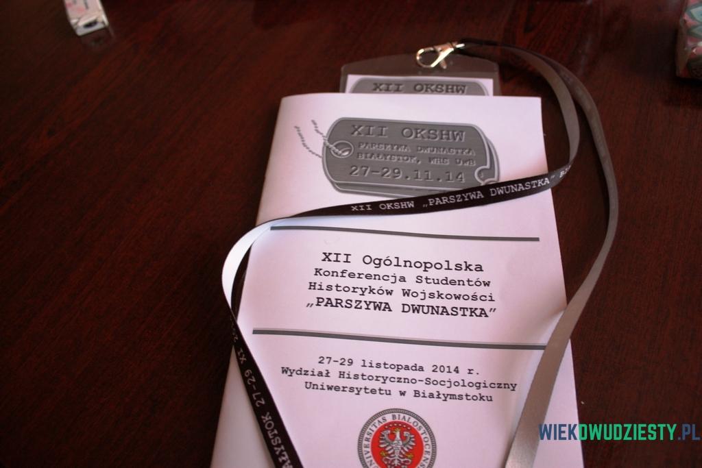 Program XII OKSHW, fot. M.Mokrosiński, portal historyczny wiekdwudziesty.pl