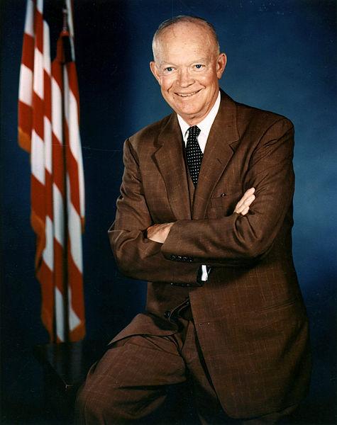 Prezydent Dwight D. Eisenhower, lipiec 1959. Źródło: Wikimedia Commons, domena publiczna.