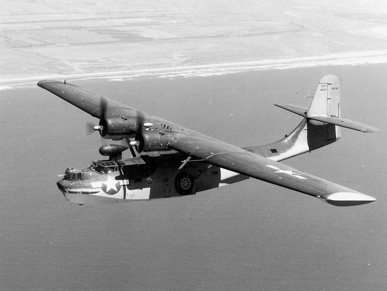 Consolidated PBY-5 Catalina, źródło: Wikimedia Commons, domena publiczna.