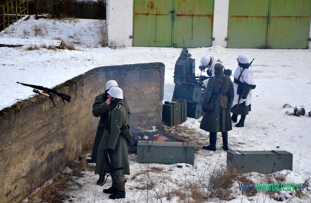 Niemiecka piechota w Wingen, fot. Michał Szafran, odwaszegofotokorespondenta.blogspot.com