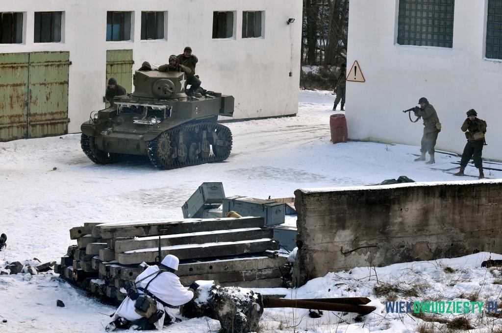 Lekki czołg M3/M5 Stuart, fot. Michał Szafran, odwaszegofotokorespondenta.blogspot.com