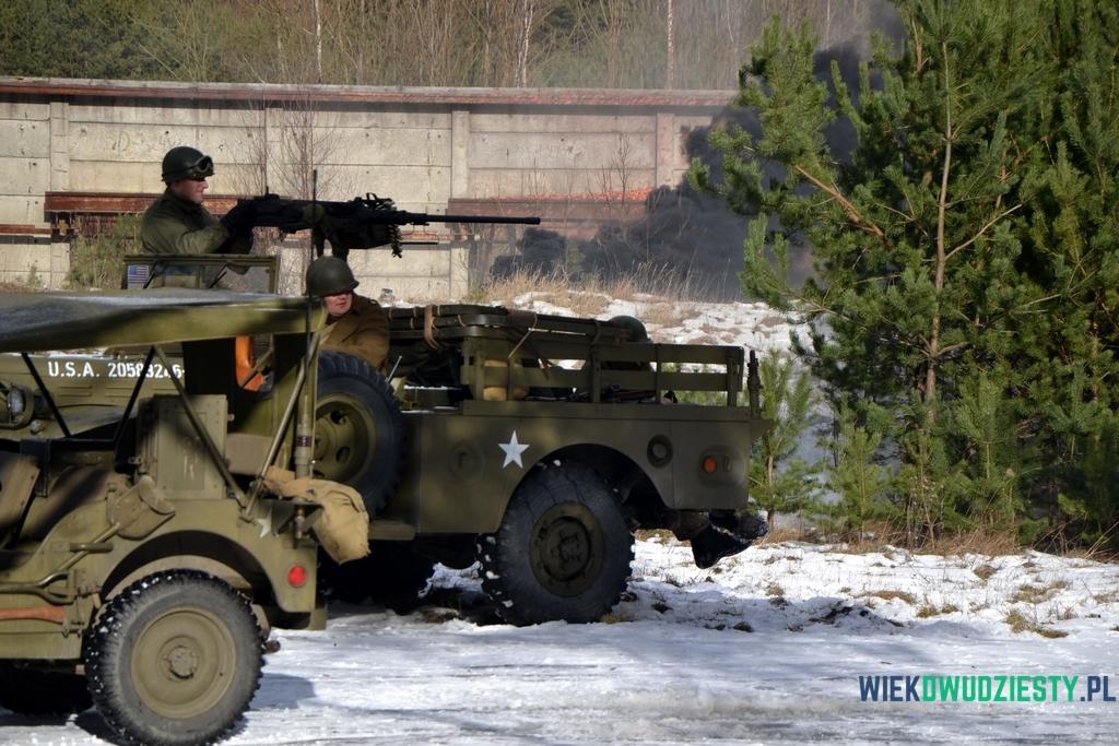 Wielkokalibrowy karabin maszynowy Browning M2 na ciężarówce Dodge WC, fot. Michał Szafran, odwaszegofotokorespondenta.blogspot.com