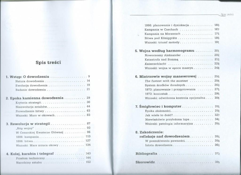Dowodzenie na wojnie. Od Aleksandra do Szarona - spis treści, fot. wiekdwudziesty.pl