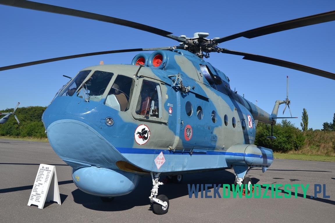 Mi-14PŁ n\b 1003. Fot. Michał Szafran, odwaszegofotokorespondenta.blogspot.com