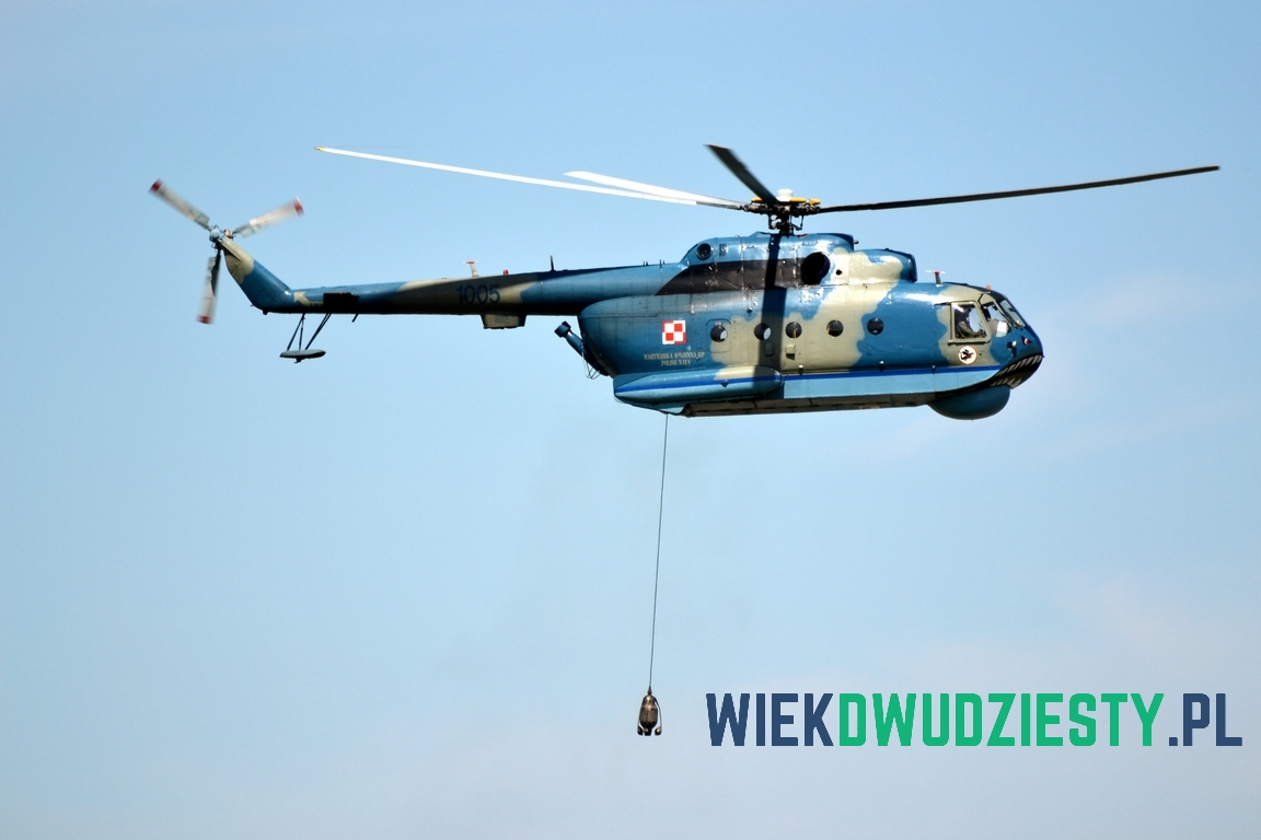 Sonar OKA-2M/Z Słowik. Fot. Michał Szafran, odwaszegofotokorespondenta.blogspot.com
