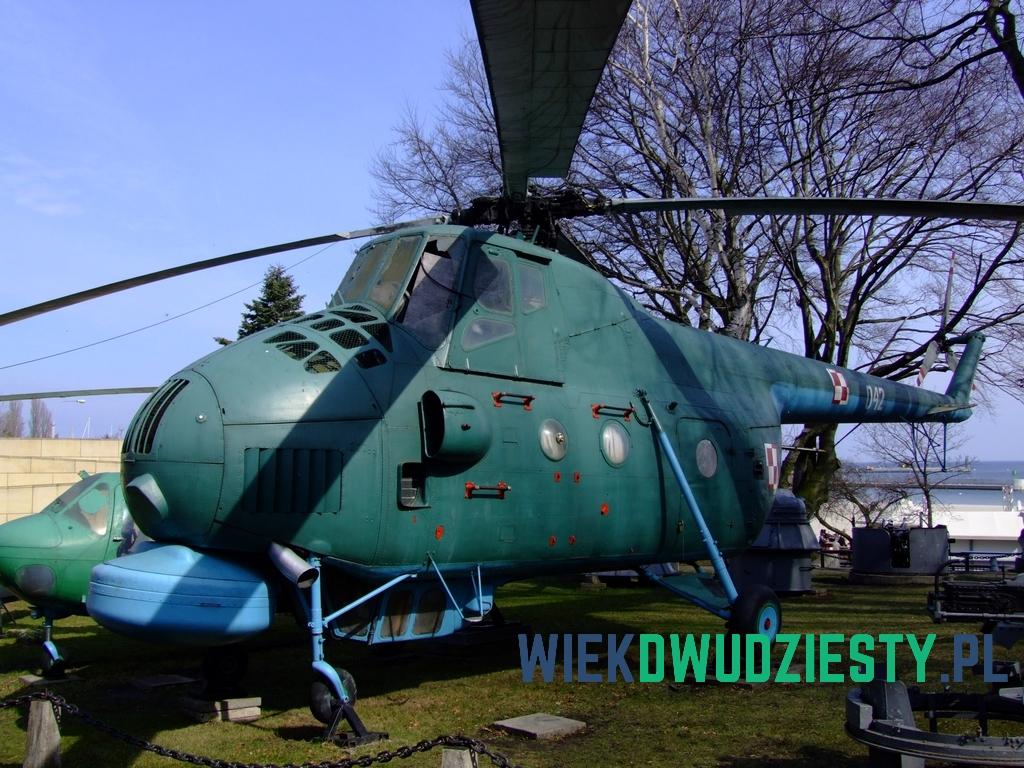 Mi-4M w Muzeum Marynarki Wojennej w Gdyni. Fot. Michał Szafran, odwaszegofotokorespondenta.blogspot.com