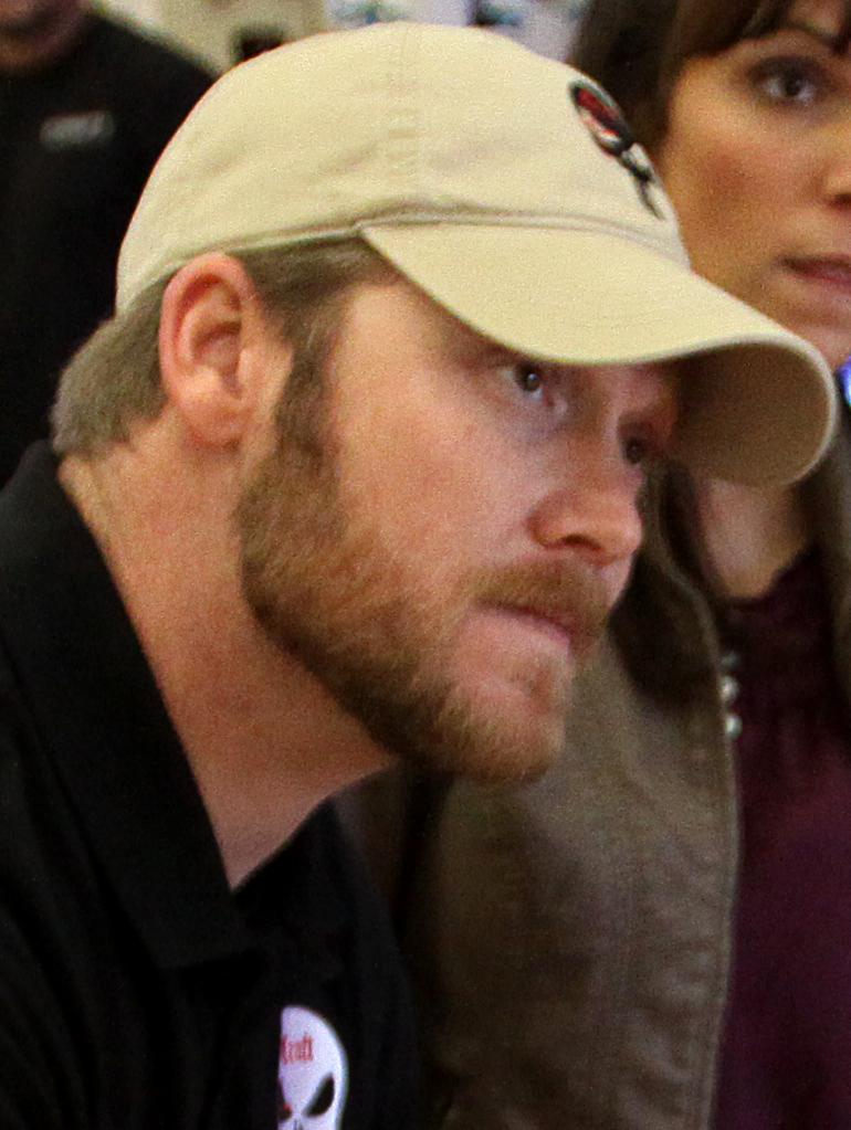 Chris Kyle, styczeń 2012. Źródło: Wikimedia Commons, domena publiczna.