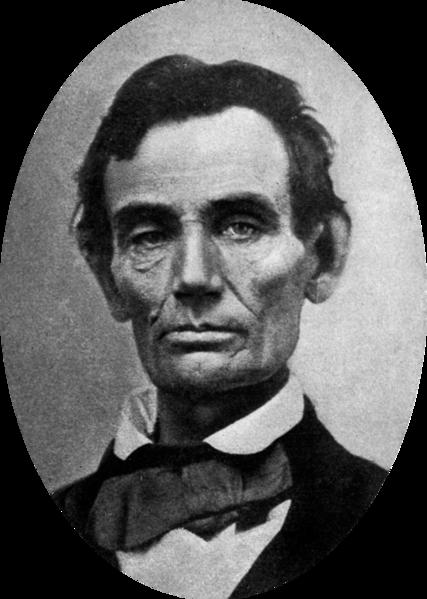 Abraham Lincoln w 1858 roku. Źródło: Wikimedia Commons, domena publiczna.