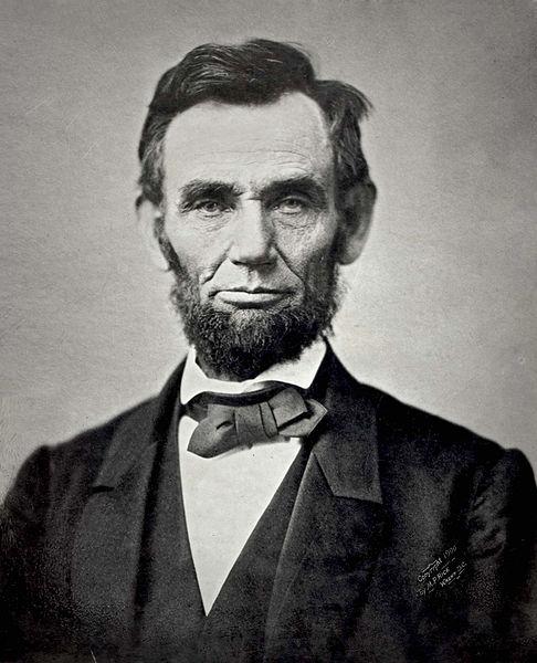 Abraham Lincoln w 1863 roku. Źródło: Wikimedia Commons, domena publiczna.