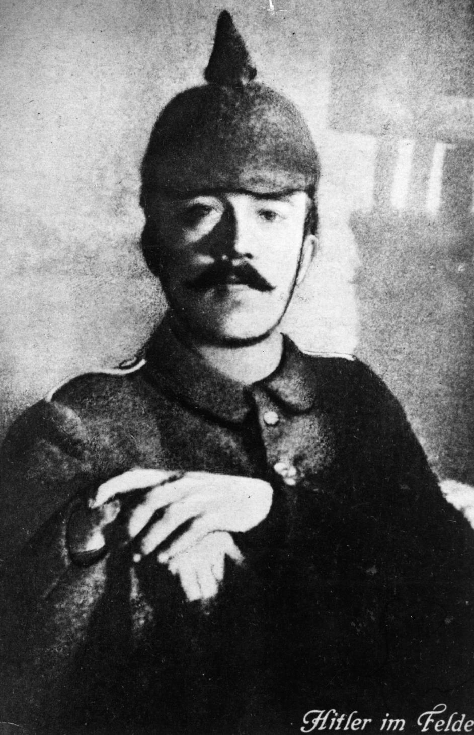 Adolf Hitler podczas I wojny światowej. Źródło: materiały prasowe National Geographic Channel