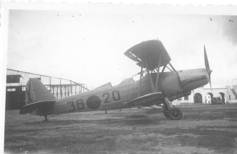 Samolot Gotha Go 145 wykorzystywany w Hiszpanii przez Aviación Nacional. Źródło: Wikimedia Commons, domena publiczna.