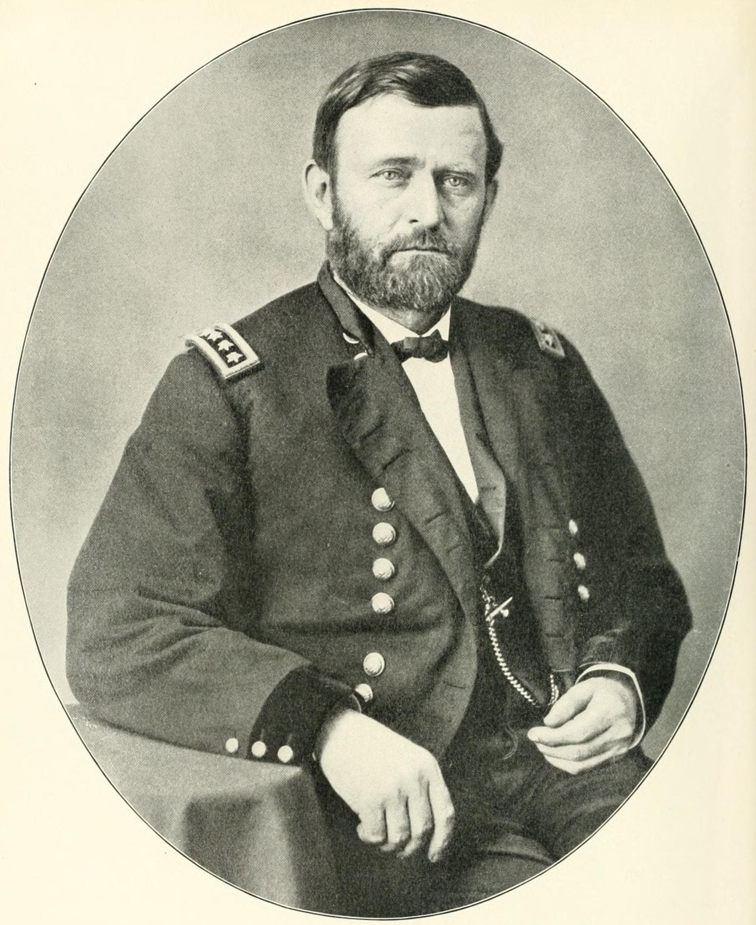 Generał Ulysses S. Grant. Źródło: Wikimedia Commons, domena publiczna.