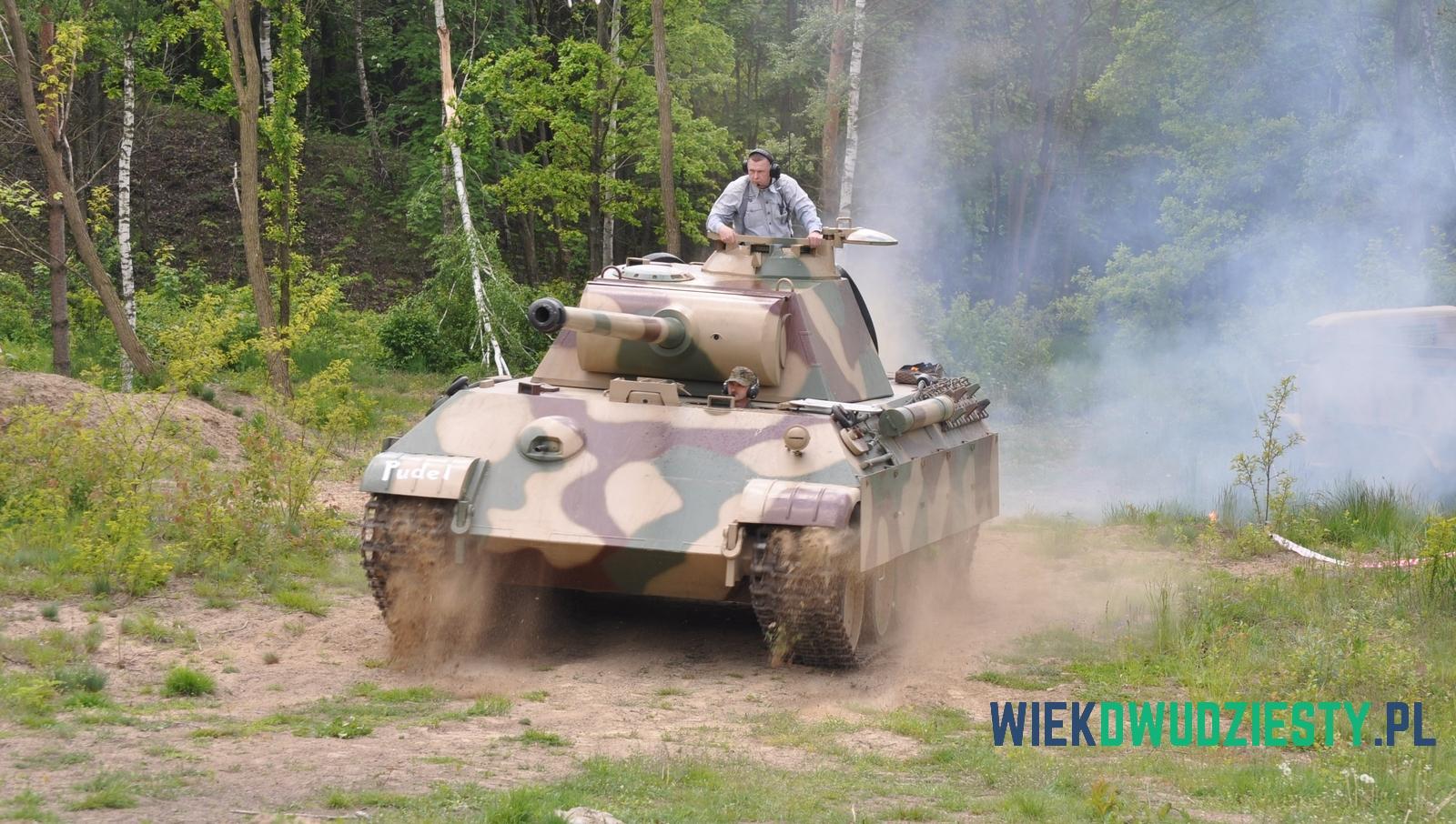"""""""Pantera"""" w akcji. Muzeum Techniki Wojskowej Gryf , fot. Michał Szafran, odwaszegofotokorespondenta.blogspot.com"""