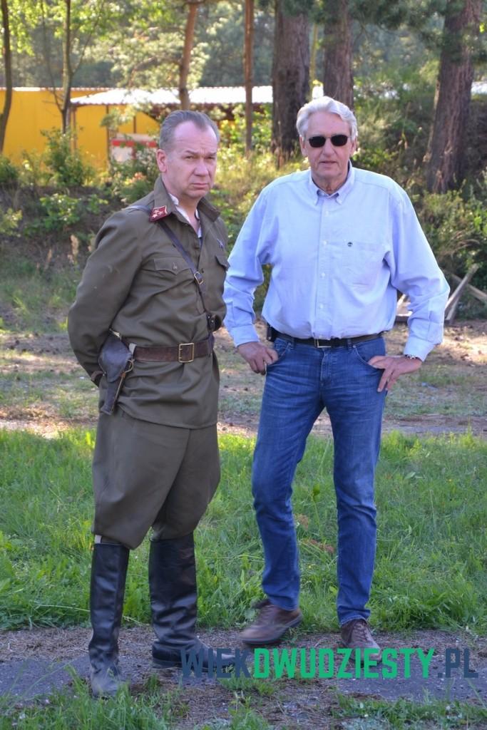 Mirosław Baka i Bogusław Wołoszański. Fot. Michał Szafran
