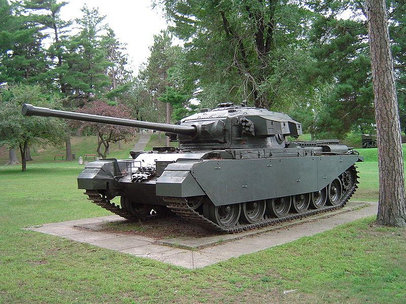 Centurion Mk 3. Źródło: Wikimedia Commons, licencja: CC BY-SA 3.0