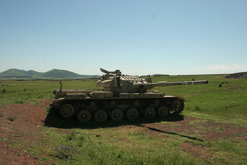 Izraelski czołg Sh'ot. Źródło: Wikimedia Commons, domena publiczna.