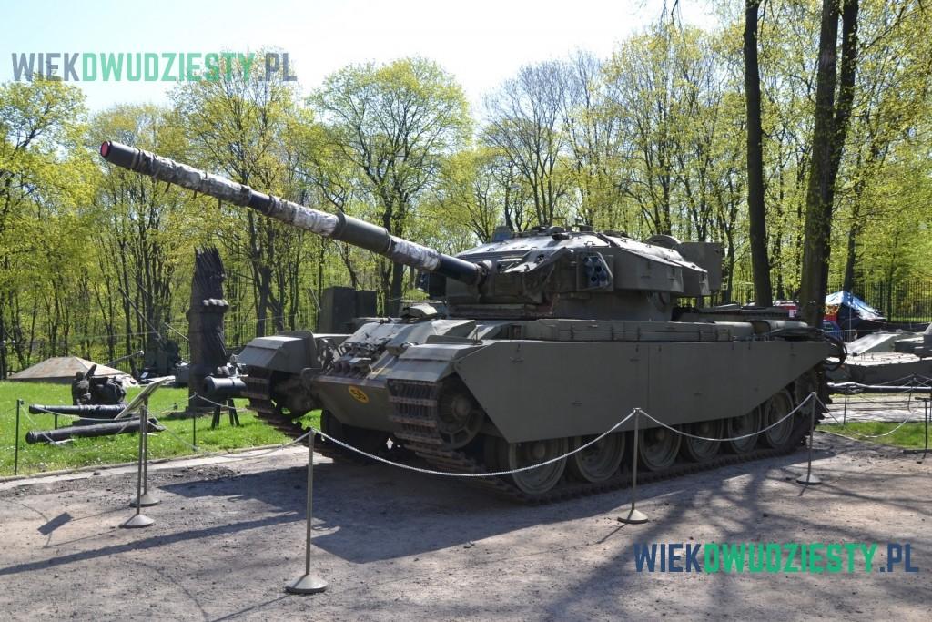 Czołg Centurion Mk 5 w Muzeum Wojska Polskiego w Warszawie. Fot. Michał Szafran, odwaszegofotokorespondenta.blogspot.com