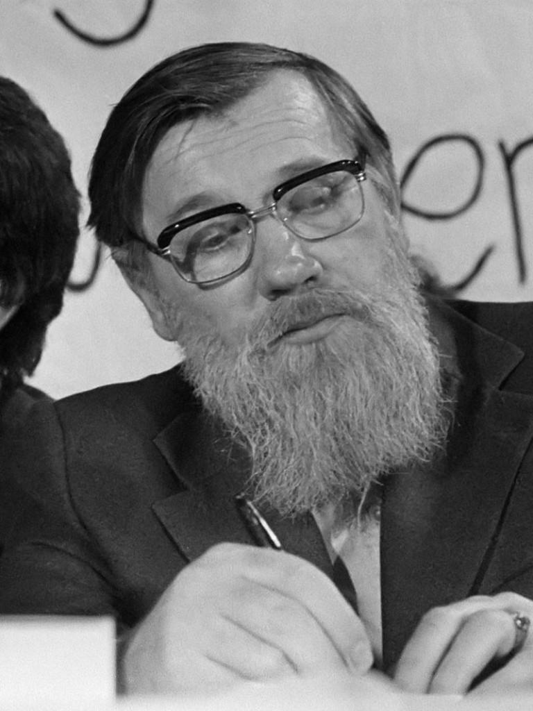 Andriej Siniawski w 1975 roku. Źródło: Wikimedia Commons, licencja: CC BY-SA 3.0