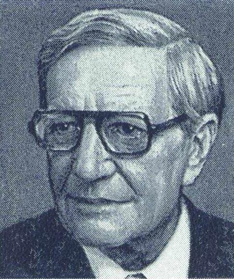 Kim Philby, podobizna pochodząca z sowieckiego znaczka pocztowego. Źródło: Wikimedia Commons, domena publiczna.