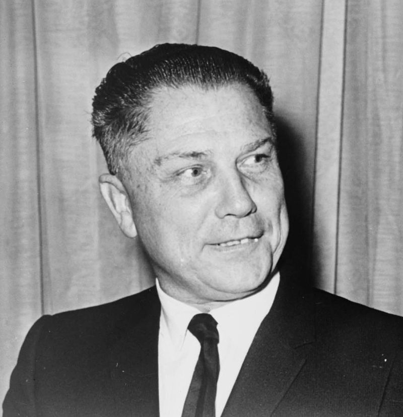 James R. Hoffa. Fot. John Bottega, domena publiczna.