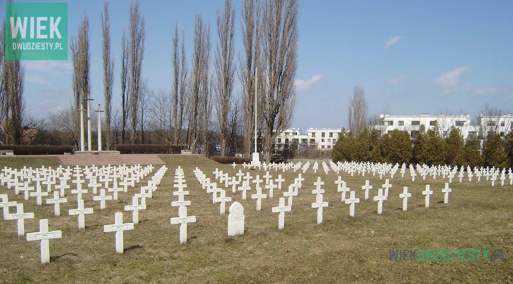 Wojskowy Cmentarz Francuski w Gdańsku, fot. Marcin Mokrosiński