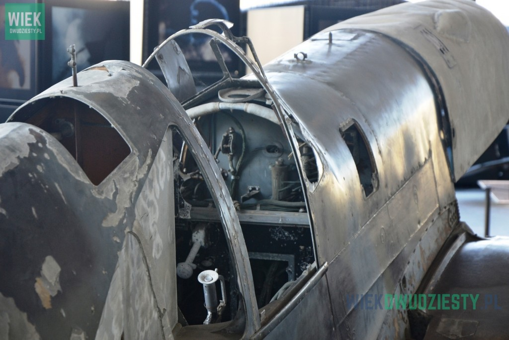 Caudron CR.714 w Muzeum Lotnictwa Polskiego w Krakowie. Fot. Michał Szafran, odwaszegofotokorespondenta.blogspot.com
