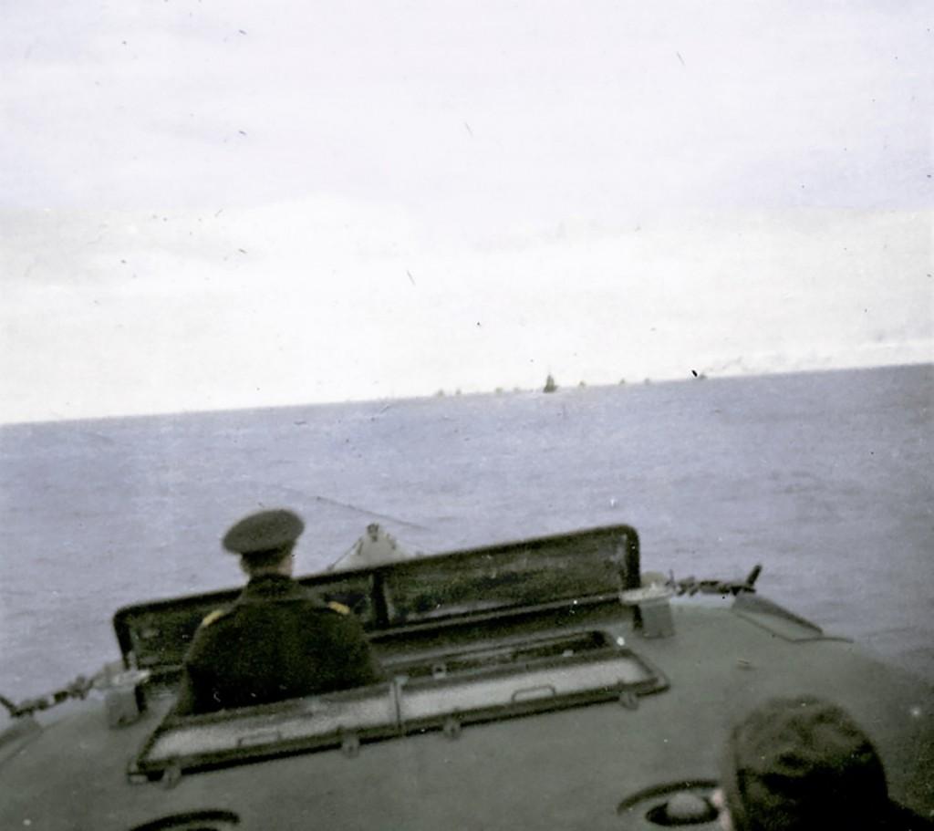 Grudzień 1939, ORP Orzeł w czasie eskortowania konwoju