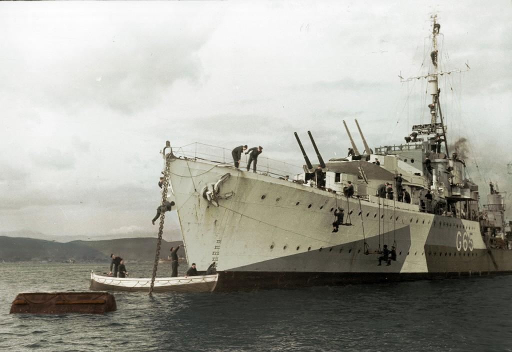 ORP Piorun w lipcu 1944 roku