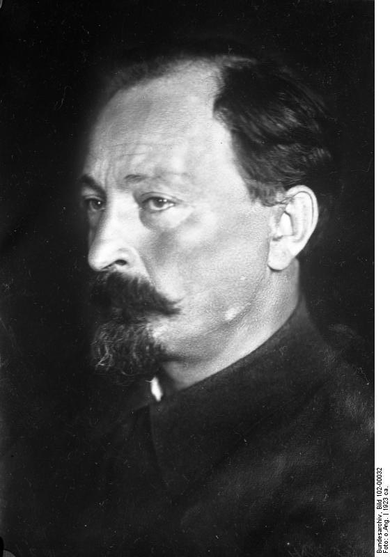 Feliks Dzierżyński. Źródło: Bundesarchiv, licencja: CC BY-SA 3.0 de