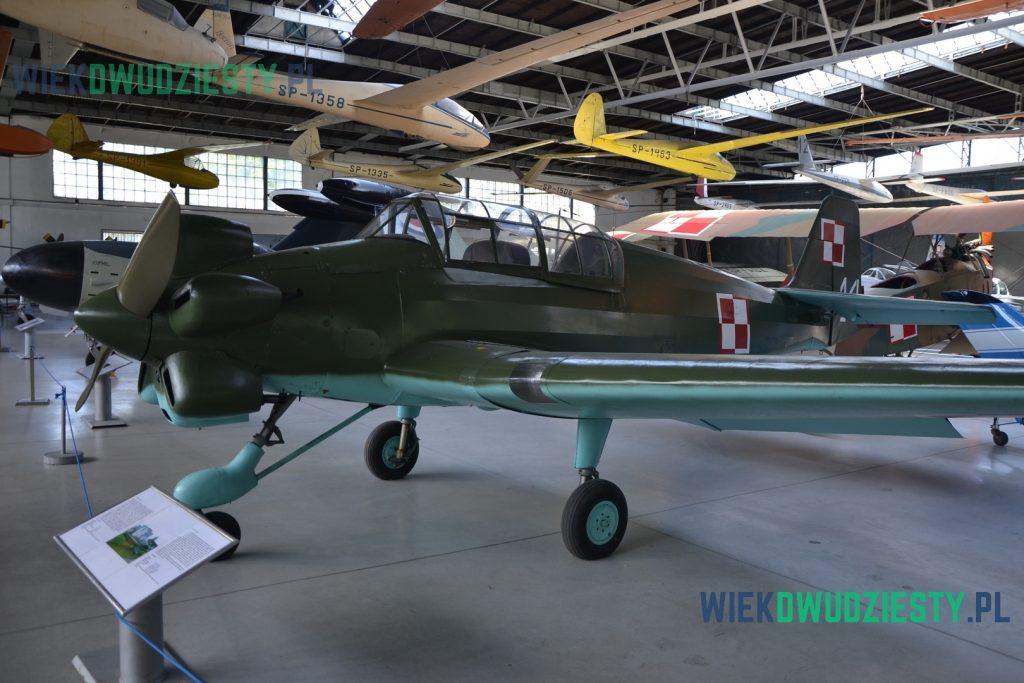 Junak-3, Muzeum Lotnictwa Polskiego w Krakowie. Fot. M.Szafra, odwaszegofotokorespondenta.blogspot.com
