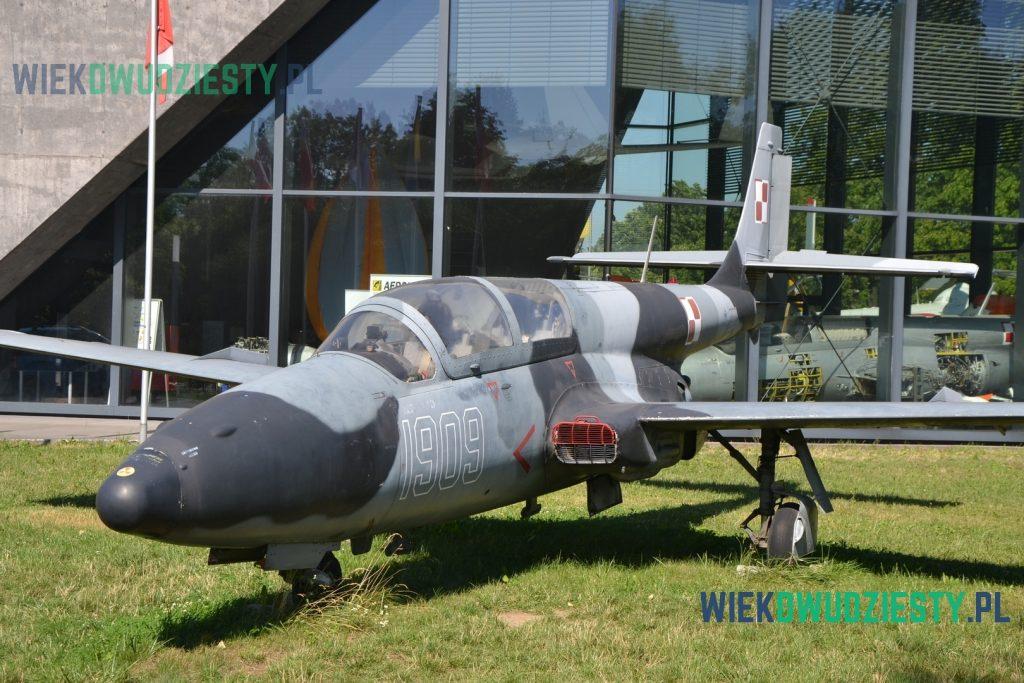 TS-11R Novax. Samolot dostosowany do działań rozpoznawczych nad morzem używany w Marynarce Wojennej RP. Fot. M. Szafran, odwaszegofotokorespondenta.blogspot.com