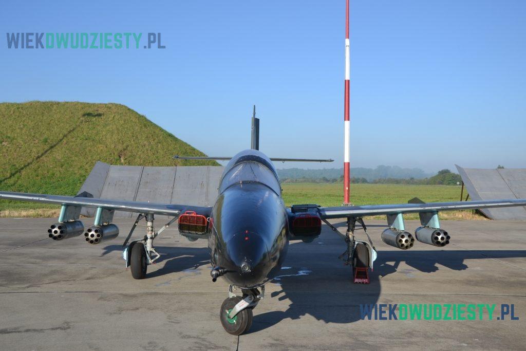 TS-11DF. Samolot dostosowany do działań rozpoznawczych nad morzem używany w Marynarce Wojennej RP. Fot. M.Szafran, odwaszegofotokorespondenta.blogspot.com