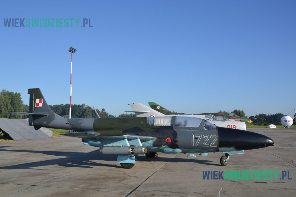 TS-11DF. Samolot dostosowany do działań rozpoznawczych nad morzem używany w Marynarce Wojennej RP. Fot. M. Szafran, odwaszegofotokorespondenta.blogspot.com