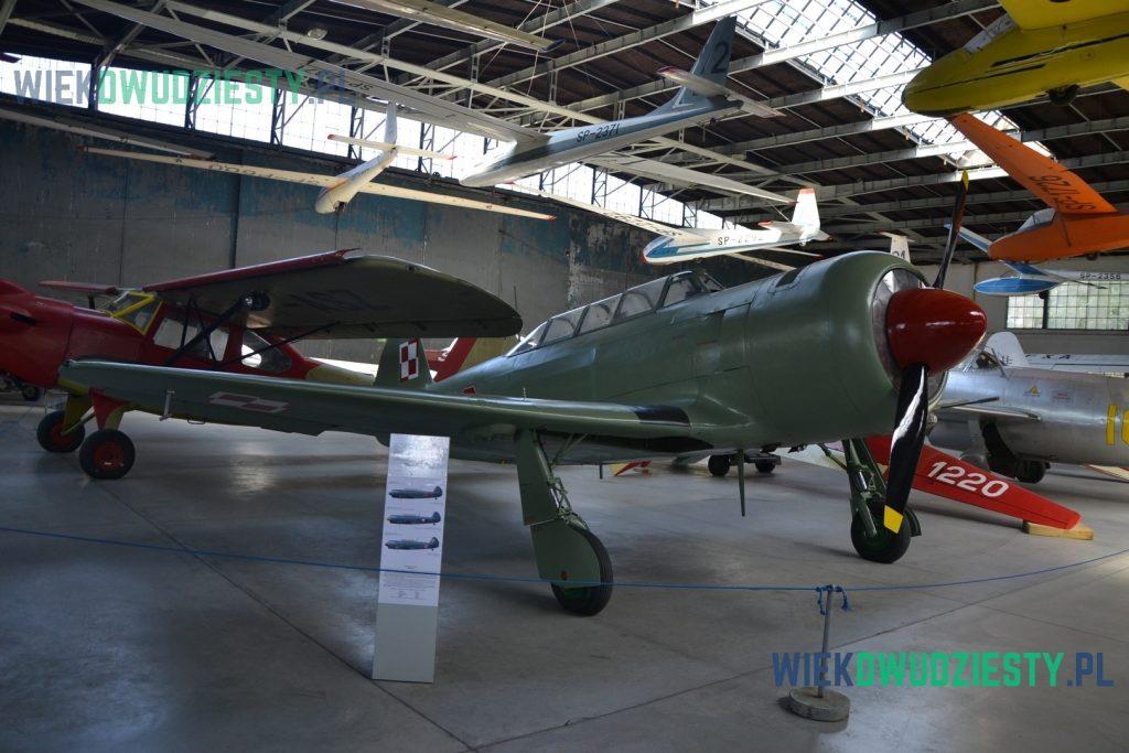 Jak-11, Muzeum Lotnictwa Polskiego w Krakowie. Fot. M.Szafran, odwaszegofotokorespondenta.blogspot.com