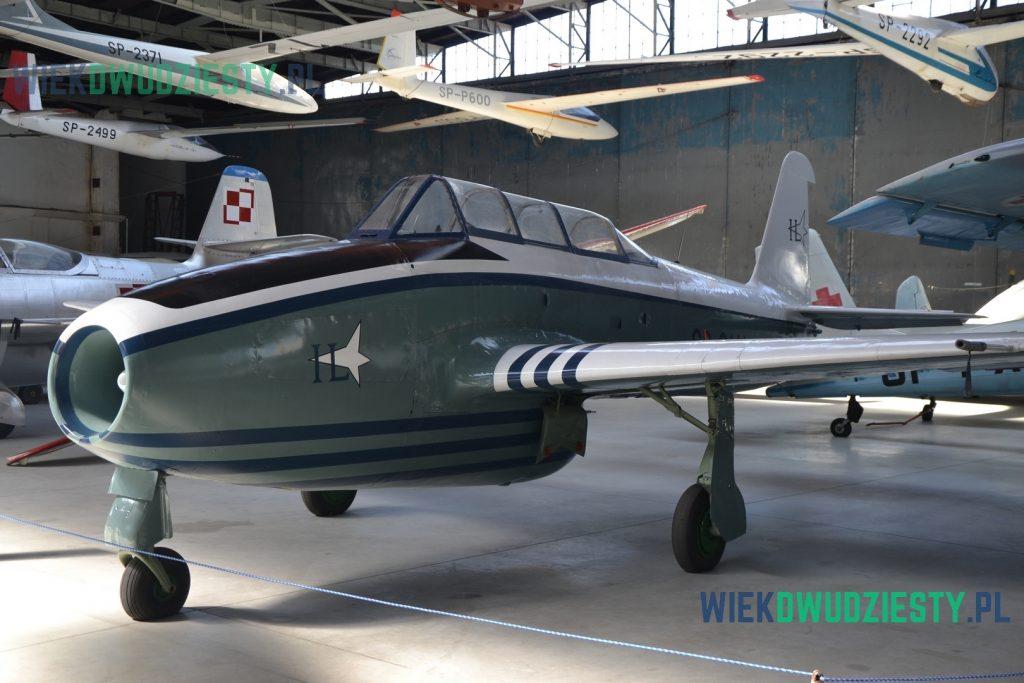 Jak-17W, Muzeum Lotnictwa Polskiego w Krakowie. Fot. M.Szafran, odwaszegofotokorespondenta.blogspot.com