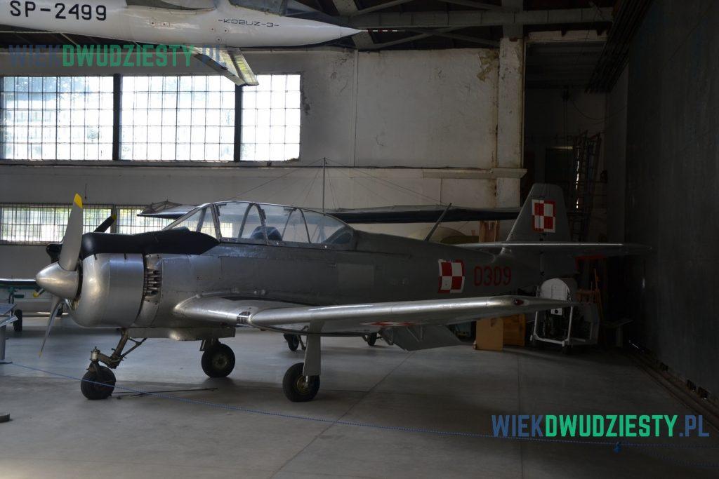 TS-8 Bies, Muzeum Lotnictwa Polskiego w Krakowie. Fot. M.Szafran, odwaszegofotokorespondenta.blogspot.com