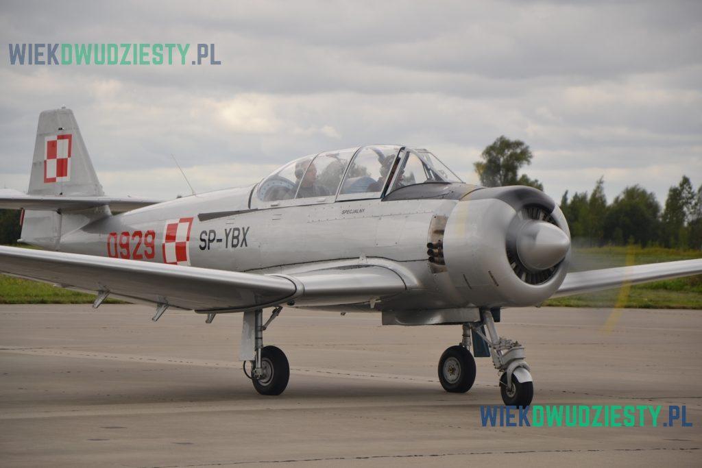 TS-8 Bies, SP-YBX . Samolot odrestaurowany i używany w Aeroklubie Elbląskim. Fot. M.Szafran, odwaszegofotokorespondenta.blogspot.com