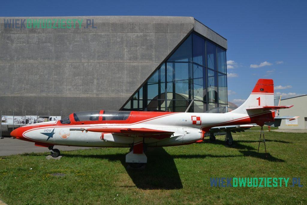 TS-11 Iskra. Zespół Biało-Czerwone Iskry. Fot. M. Szafran, odwaszegofotokorespondenta.blogspot.com