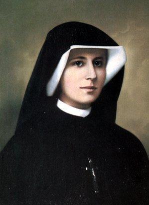 Święta Faustyna Kowalska. Źródło: Wikimedia Commons, domena publiczna.