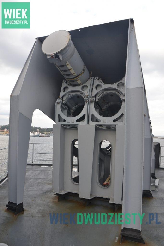 Wyrzutnia pocisków Exocet na pokładzie francuskiej fregaty FS Latouche-Treville. Fot. M. Szafran, odwaszegofotokorespondenta.blogspot.com