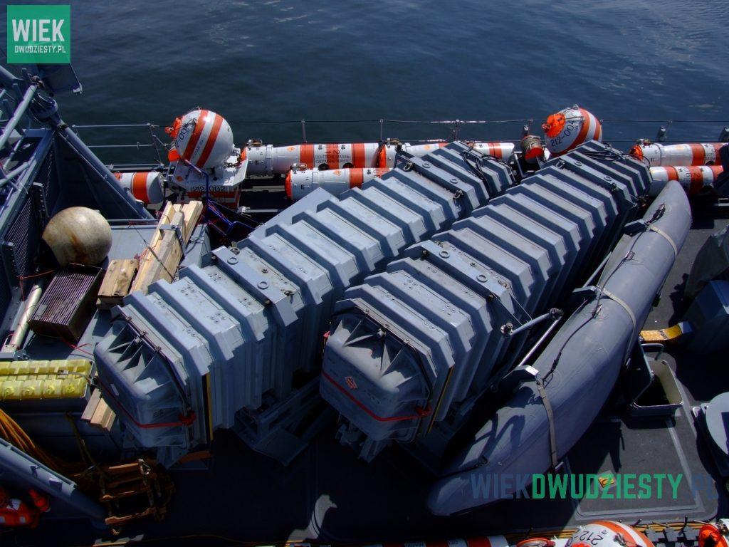 Wyrzutnia pocisków Exocet na pokładzie niemieckiego kutra rakietowego typu 143A FGS Hyäne. Fot. M. Szafran, odwaszegofotokorespondenta.blogspot.com